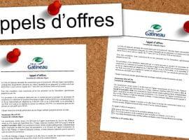 Consultez les appels d'offres de la Ville de Gatineau