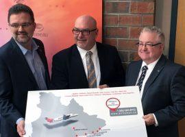 Des vols vers Québec à l'Aéroport exécutif de Gatineau-Ottawa