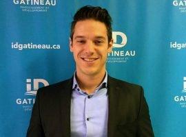 Gabriel Laporte se joint à l'équipe d'ID Gatineau