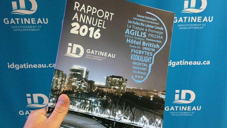 ID Gatineau dévoile ses résultats pour l'année 2016