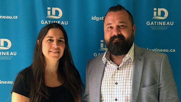 Claudine Cyr et Jean-Daniel Boileau se joignent à l'équipe d'ID Gatineau