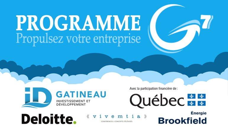 Programme G7 – Édition 2017
