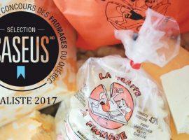 Le fromage en grains de La Trappe à fromage est finaliste pour le prestigieux Concours Sélection Caseus!