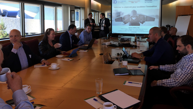 Programme G7 : Les entrepreneurs participent à une journée de formation avec Laurent Simon
