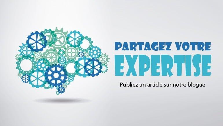 Partagez votre expertise en publiant  un article sur notre blogue!
