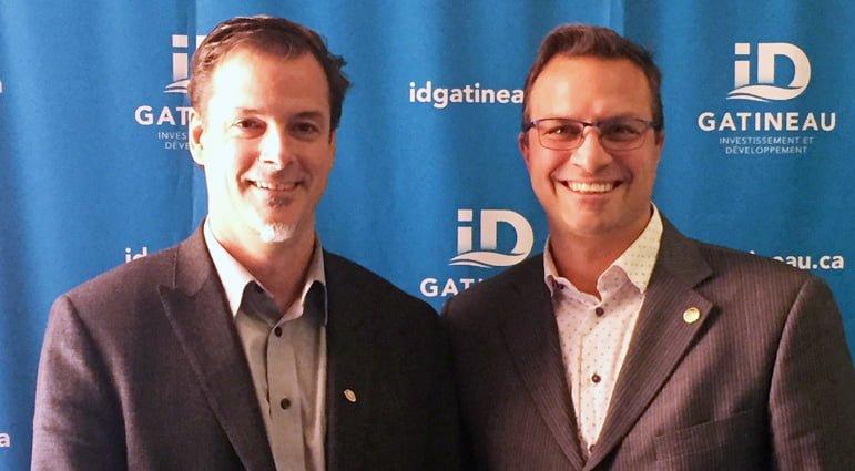 Nominations de Martin Lajeunesse et Jean-François Leblanc au CA d'ID Gatineau