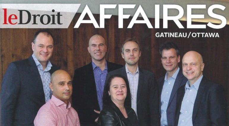 Notre Programme G7 fait la une du magazine Le Droit Affaires