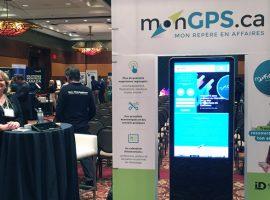 monGPS.ca rayonne au Rendez-vous des entreprises de Gatineau