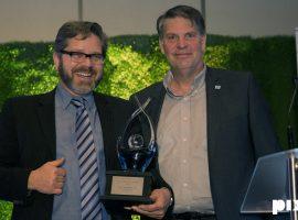 Luc Marineau remporte le prix du « Mentoré de l'année »