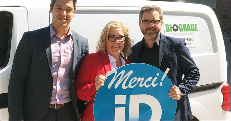 ID Gatineau accorde une aide financière à Biograde afin de l'appuyer dans son projet d'expansion
