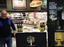 Les Huiles d'olive Lahmar maintenant disponibles chez Métro