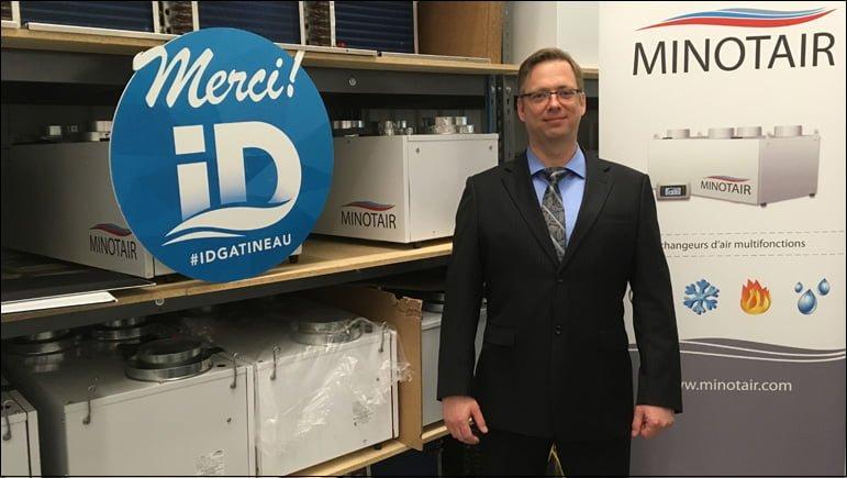 ID Gatineau contribue à la construction de l'usine d'assemblage de Minotair Ventilation