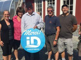 ID Gatineau accorde une aide financière de 25 000 $ à la ferme Dalton