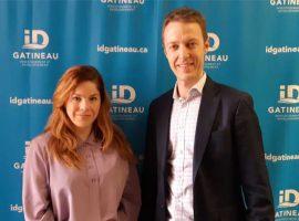 Florence d'Amours et Raphaël Frouin se joignent à l'équipe d'ID Gatineau