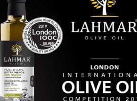 Médaille d'argent pour Les huiles d'olive Lahmar au London International Olive Oil Competitions