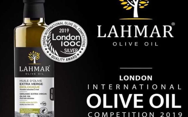 Médaille d'argent pour Les huiles d'olive Lahmar au London International Olive Oil Competitions