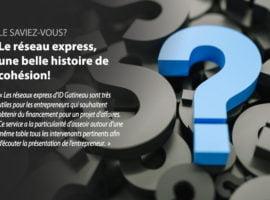 Le réseau express, une belle histoire de cohésion!