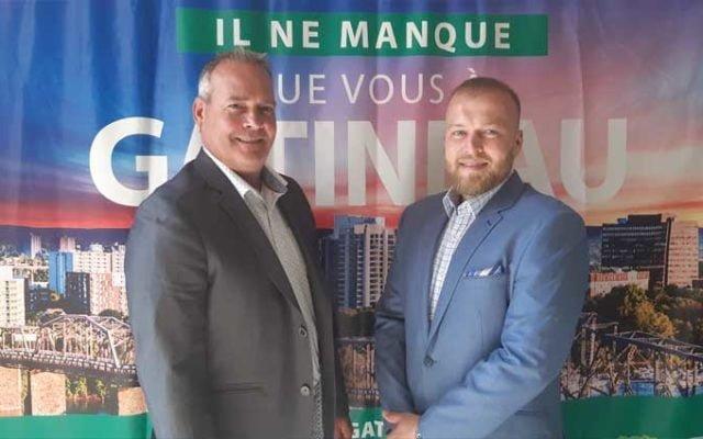 François Boudreault et Stéphane Robinson se joignent à l'équipe d'ID Gatineau
