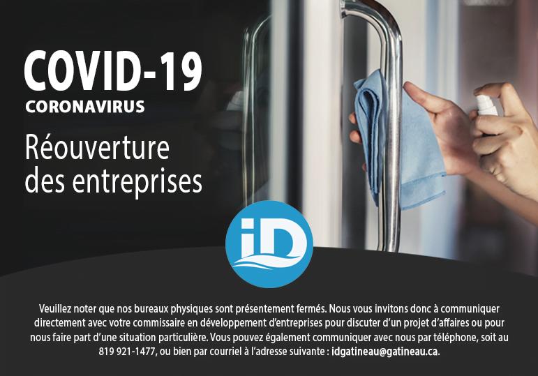 COVID-19 : Réouverture des entreprises