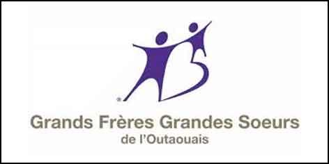 Logo Grands Frères Grandes Sœurs de l'Outaouais