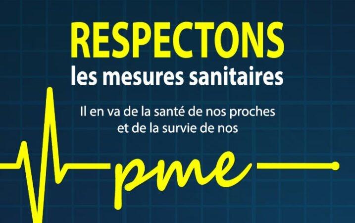 Respectons mesures sanitaires