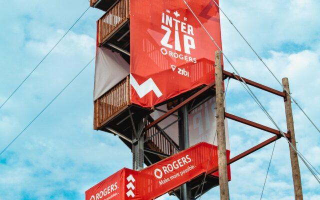 Interzip Rogers: la première tyrolienne interprovinciale au monde